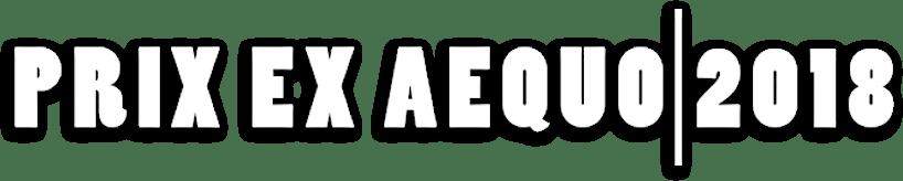 PRIX EX AEQUO | 2018